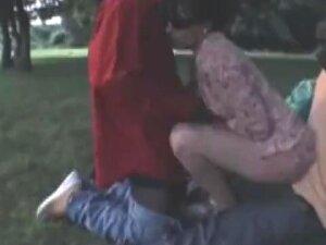 French Wife Nadine Takes Blacks In The Park Porn