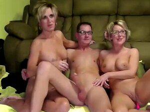 Awesome Threesome With Horny Wife And Her Sis Porn