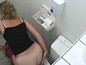 The Mature Blonde Was Sitting And Pissing On Toilet While The Voyeur Cam Was Working Above Her Head And Recording That Milky White Booty Looking As Soft And Tasty As A Bun Porn