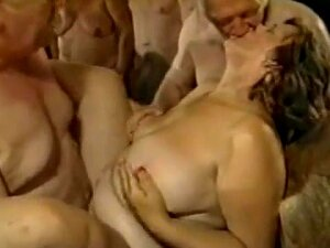 Old Swinger Orgy, Some Bisex Porn