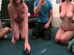 As A Result Of Thse Naughty Sexy Coeds Extreme Need To Satisfy Their Strong Urge For Sexual Desire, They Decied To Come Up With A Party That Made Them Play Spin The Bottle That Eventually Gets Their Pussy Eaten Out And Gobble That Massive Throbbing Cocks. Porn