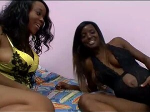 Delicious Pregnant Ebony Lesbians Fuck Their Pussies With Big Dildos Porn