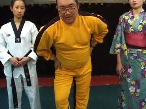 Japanese VS Korean Wrestling Catfight 2 Porn
