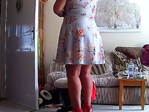 Housewife Milf Mature Mom Mum Upskirt - Hacked IP Camera. Not Entirely Sure What She Was Doing But I Enjoyed Watching Her Do It. Upskirt Starts Around 2:16 Porn