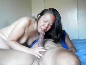 Chinese Milf Sucks And Rides That Thick Cock Porn