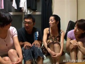 Delicious Miku Sunohara Has Group Sex With Several Horny Friends Porn