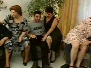Two Hot Grannies Love Having A Group Sex Porn
