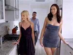 Grifter Cuties Tallie Lorain And Bella Roland Bring Their Mark Home And Jump His Bones For A Hot Blooded Threesome Porn