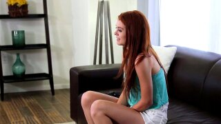 CastingCouch-X Cuckold's girlfriend wants to try porn