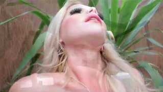Bigtitted tgirl doggystyles tattooed tranny