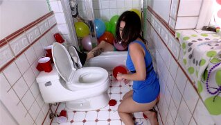 """""""TeenPies - College Cutie Creampied After Party"""""""