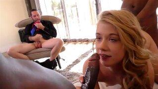 Daughter Hannah Hays Interracial Threesome