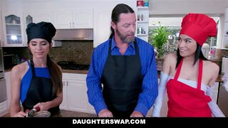 DaughterSwap - Daughters Get Swapped and Fucked By Daddy