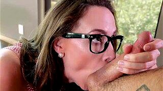 """""""MYLF - Thick Busty Milf Seduces Her Husband's Son"""""""