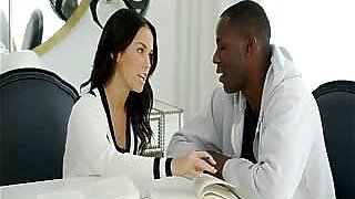 BLACKED Megan Rain nude enjoying black dick