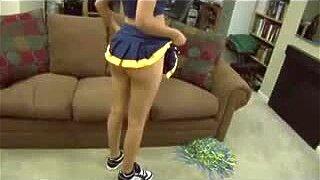 Innocent Cheerleader Shown Some New Tricks Pov