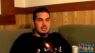 """Straight thug Spade is talking to his buddy and masturbating"""