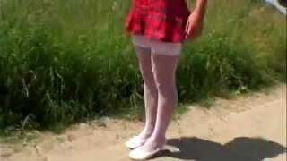 Field Trip Turn To Fuck Fest For German School Girl And Stud