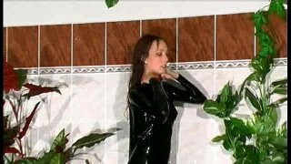 """""""Flexi Radka in latex outfit"""""""