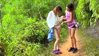 2 Hot Teens in Nature