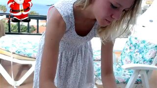 Amazing Blonde undress vibe control coconut_girl1991_071216 chaturbate REC