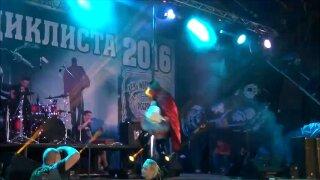 Hot Strip Dance On Public Stage