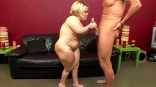 Midget Stella Marie becomes a wild beast at the hands of a hung stud