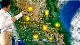 Weather in Mexico is Getting HOT