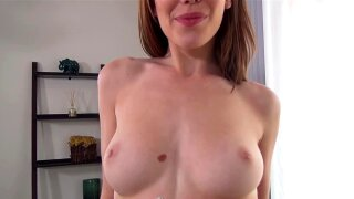 CASTINGCOUCH-X Car ride foreplay with facial for broke slut